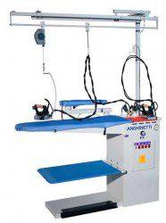 Профессиональный гладильный стол для прачечной